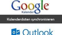 Google Kalender und Outlook synchronisieren und Daten übertragen