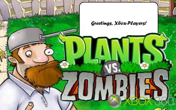 Pflanzen gegen Zombies für die Xbox 360: Tower Defense für MSs Konsole