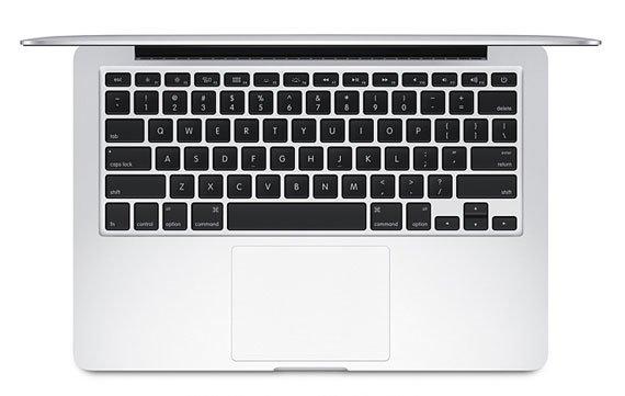 MacBook Pro Retina 13 Zoll: Apple arbeitet an Fix für Tastatur- und Trackpad-Problemen