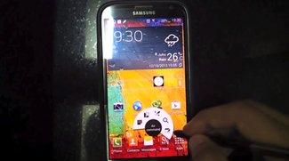 Samsung Galaxy Note 2: Custom ROM bringt Features des Galaxy Note 3
