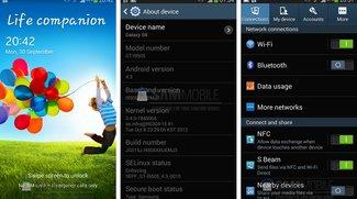 Samsung Galaxy S4: Neue Android 4.3-Firmware XXUEMJ3 zum Download verfügbar, OTA-Update in Kürze