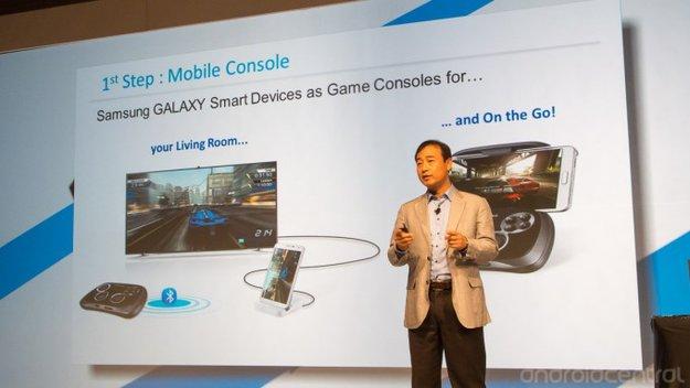 Samsung präsentiert Multiplattform-Gamepad auf der SDC 13