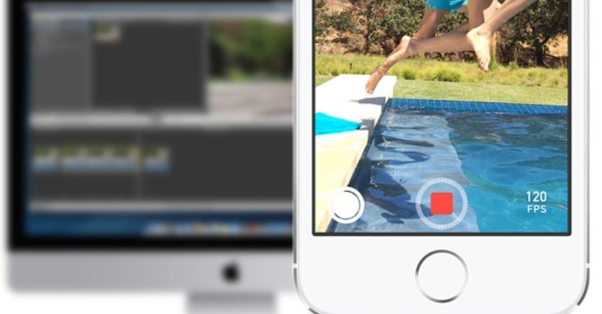 iPhone 5s: Zeitlupenvideos (Slo-Mo) auf dem Mac mit iMovie nutzen ...