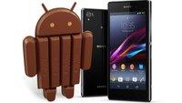 Kommt Android 4.4. noch diesen Monat? Xperia Z1 soll am 7.11. mit KitKat versorgt werden