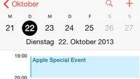 Apple Special Event am 22. Oktober: Neue iPads, Mac Pro und OS X Mavericks