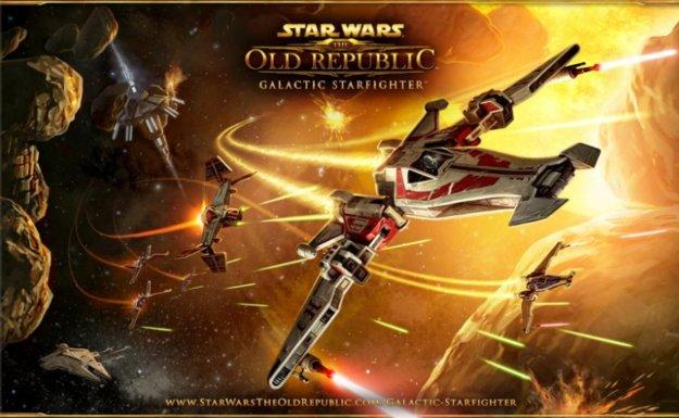 Star Wars – The Old Republic: Neue Erweiterung Galactic Starfighter angekündigt
