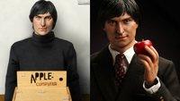 Mit Rollkragenpulli und Sneaker: Der junge Steve Jobs als japanische Spielfigur