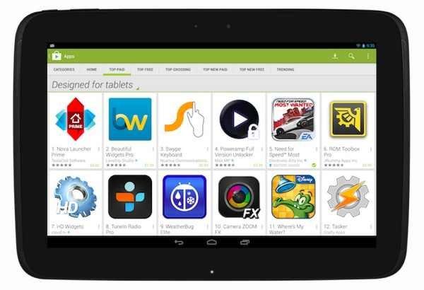 Play Store kennzeichnet demnächst für Tablets optimierte Apps