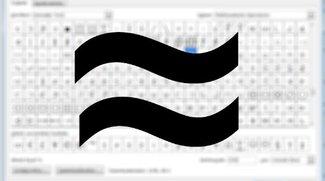 Ungefähr-Zeichen mit der Tastatur schreiben