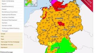 Unwetterzentrale aktuell: Sturm-Warnungen heute - Update: Bahnverkehr eingestellt in NRW