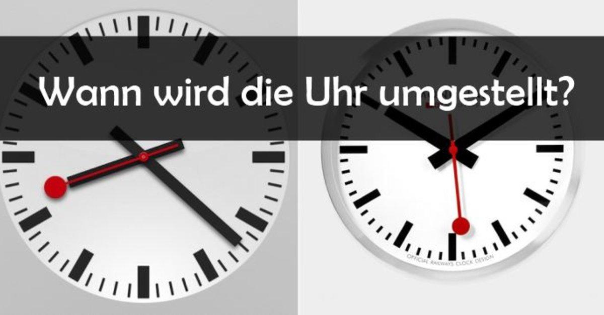 Wann Wird Die Uhr Umgestellt 2021 Sommerzeit