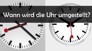 Wann wird die Uhr umgestellt?: Zeitumstellung 2016 (Winterzeit)