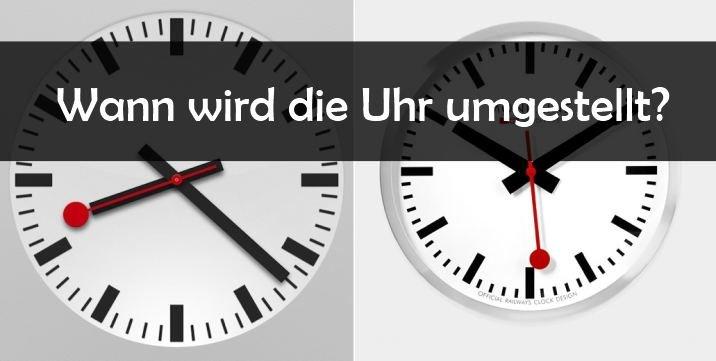 Zeitumstellung 2016: Wann wird die Uhr umgestellt?