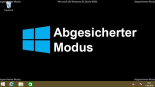 Windows 8: Abgesicherter Modus beim Start – so geht's