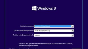 Windows 8 installieren (Upgrade & Neuinstallation) – so geht's