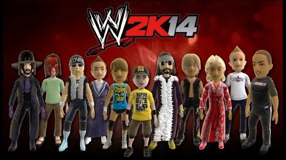 WWE 2K14: Avatare und Dynamic Theme mit WWE-Stars für Xbox