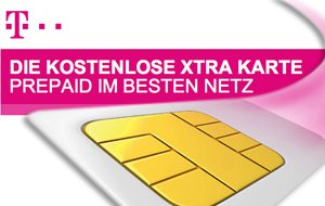 1 Tag gratis Surfen oder 10 Freiminuten mit der kostenlosen Xtra Karte der Telekom