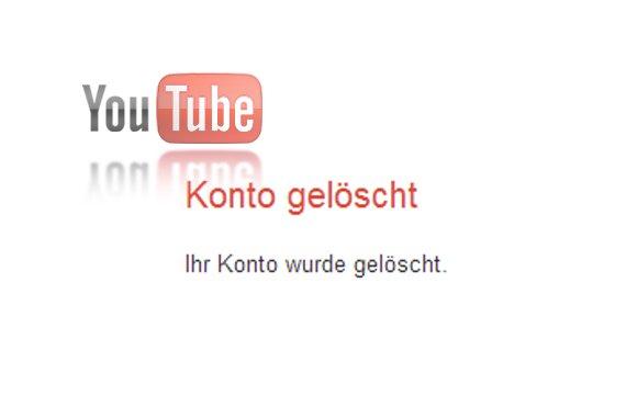 YouTube-Kanal löschen: Bye-Bye Google (Anleitung)