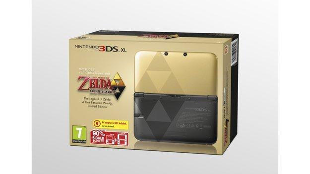 Nintendo: 3DS XL im The Legend of Zelda- und Luigi-Design vorgestellt