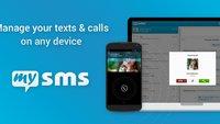 mysms: jetzt mit Anruflisten-Synchronisierung und KitKat-Unterstützung