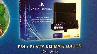 PlayStation 4: Bundle mit PlayStation Vita erscheint noch in diesem Jahr
