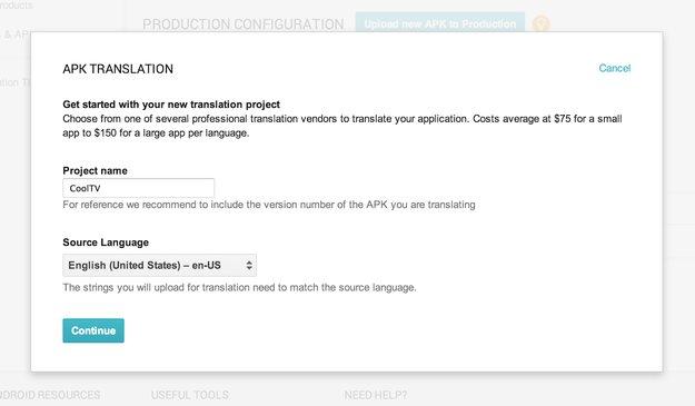 Android-Apps: Google startet Übersetzungsservice für Entwickler