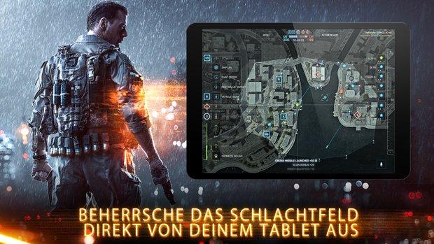 Battlefield 4: Commander-Companion-App in den Play Store marschiert