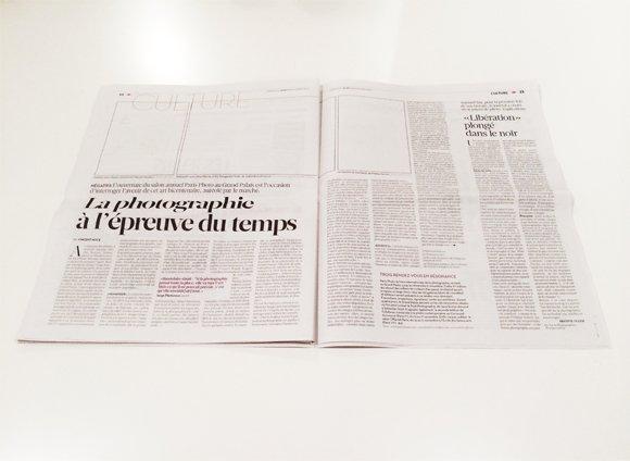 Zeitungen bald ohne Fotos?