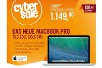 """Das neue Apple MacBook Pro 13,3"""" mit Retina Display für 1149,00 Euro"""