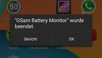 Was macht Google da: Akku Apps aktuell unter Android 4.4 nutzlos