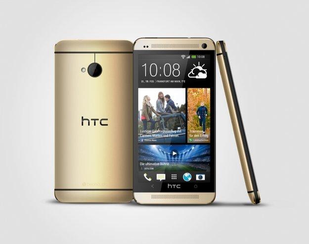 HTC One: Goldene Version für Deutschland, Österreich und die Schweiz