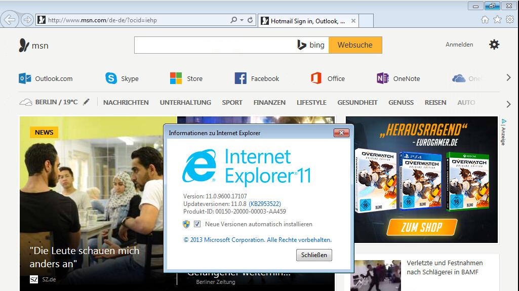 internet explorer 12 windows 7 64 bits