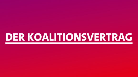 Koalitionsvertrag 2013