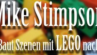 Mike Stimpson baut berühmte Fotos und Filmszenen mit Lego nach