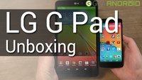 LG G Pad Unboxing