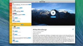 Live TV App für Mac mit Videowall-Funktion (Verlosung auf GIGA)