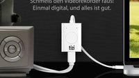 Kabelfernsehen und VHS am Mac: Videorecycler und neuer tizi