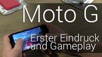 Moto G: Erster Eindruck und kleines Gameplay mit Asphalt 8(!)
