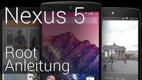 Nexus 5 rooten: Einfache Schritt-für-Schritt Anleitung mit CF-Root