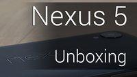 Nexus 5 Unboxing: Leicht, gummiert und fluffiger als Pummeluff!