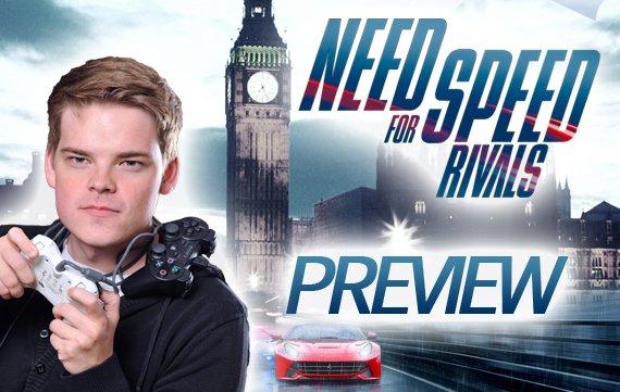 Robin allein in London: Need for Speed Rivals im Vorab-Test