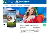 Allnet Flat mit Gratis Samsung Galaxy S4 bei Preis24.de