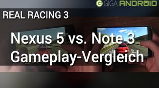 Nexus 5 vs. Galaxy Note 3 Gameplay: Real Racing 3
