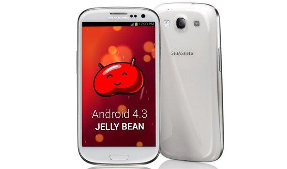 Samsung Galaxy S3 erhält Update auf Android 4.3