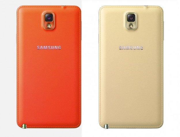 Samsungs Galaxy Note 3 in Rot und Weißgold (Gerücht)