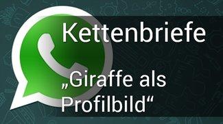 """WhatsApp: """"Du kommst ins Zimmer"""" - Giraffe als Profilbild - Hier findet ihr die Lösung"""