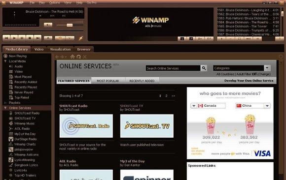 Winamp Mediaplayer