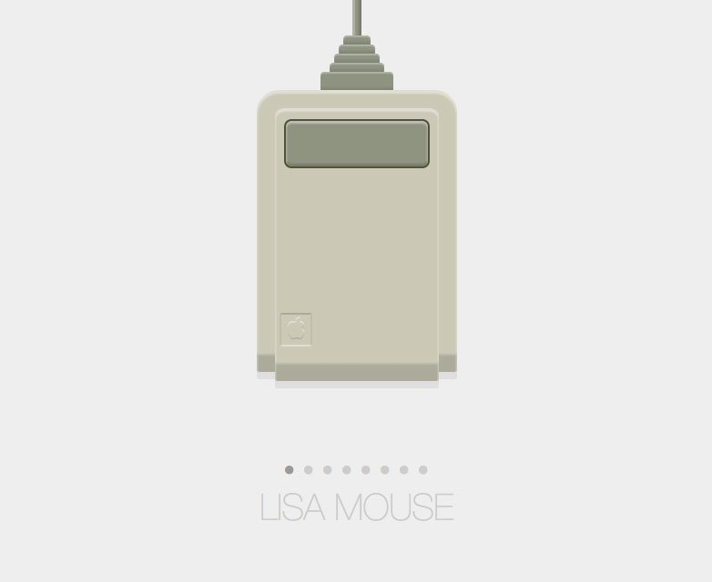 Apple Lisa Maus