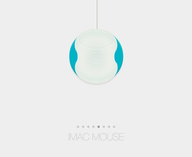 Apple iMac Maus