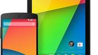 Nexus 7 (2012, 2013) und Nexus 10 erhalten heute Update auf Android 4.4! Was ist mit Nexus 4?